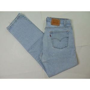 Vintage Levi's 505 36 X 34 Blue Jeans Straight